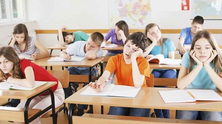aburrimiento en clase
