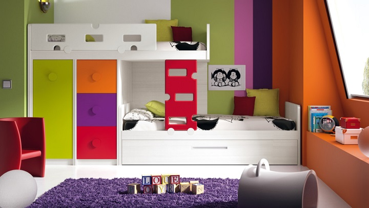 habitaciones mixtas ideas