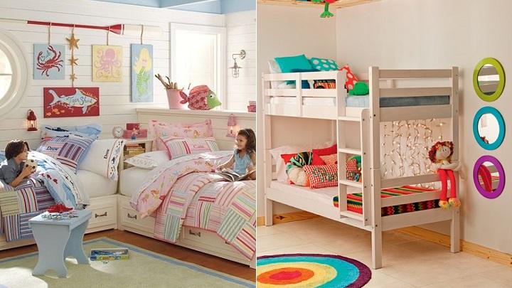 Ideas para decorar habitaciones infantiles mixtas rinc n - Ideas para dormitorios infantiles ...