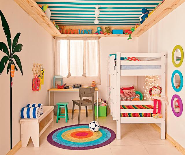 Habitaciones mixtas18 rinc n del peque - Habitacion infantil de nina ...
