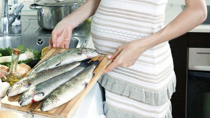 pescado embarazo