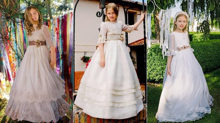 Vestidos de comunion periquetta precios