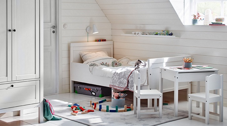 Cat logo de decoraci n ikea de habitaciones infantiles for Habitaciones infantiles dobles ikea
